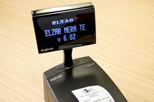 Drukarka fiskalna Elzab Mera TE - Nowoczesny kolorowy ekran