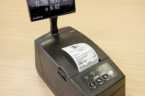 Drukarka fiskalna Elzab Mera TE - 3 x 36 znaków w nazwie towaru lub usługi